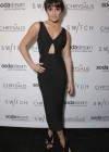 Lea Michele:t Switch Boutique Holiday Party -01