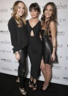 Lea Michele:t Switch Boutique Holiday Party -03