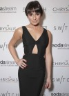 Lea Michele:t Switch Boutique Holiday Party -04