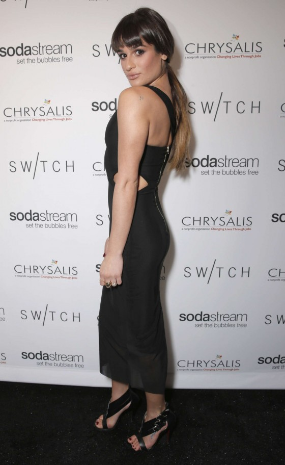 Lea michele t switch boutique holiday party 05 gotceleb for Lea boutique