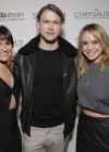 Lea Michele:t Switch Boutique Holiday Party -07