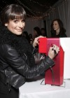 Lea Michele:t Switch Boutique Holiday Party -09