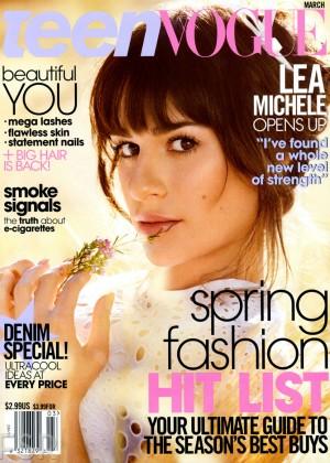 Lea Michele: Teen Vogue Magazine -01