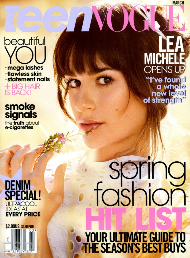 Lea Michele: Teen Vogue Magazine -01