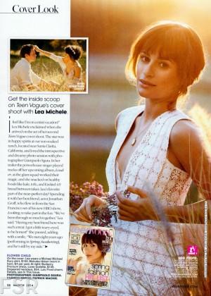 Lea Michele: Teen Vogue Magazine -02