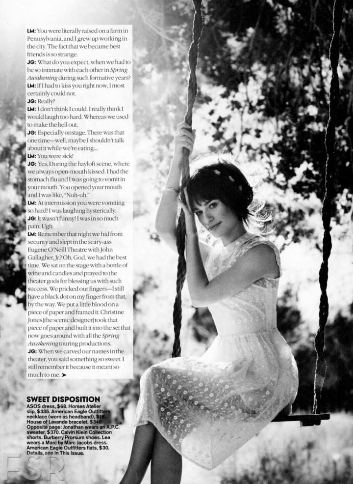 Lea Michele: Teen Vogue Magazine -05