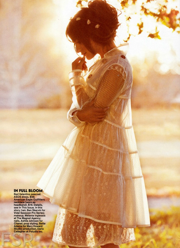 Lea Michele: Teen Vogue Magazine -06