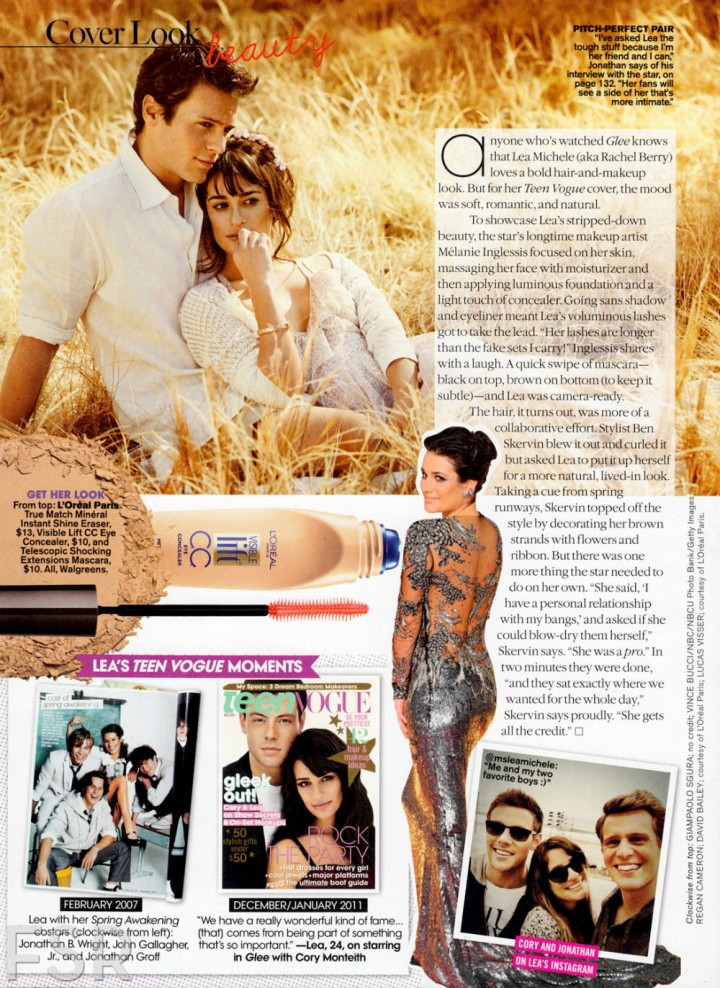 Lea Michele: Teen Vogue Magazine -07