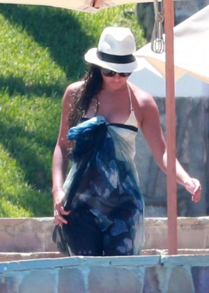 Lea Michele in Bikini -07