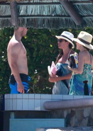 Lea Michele in Bikini -09