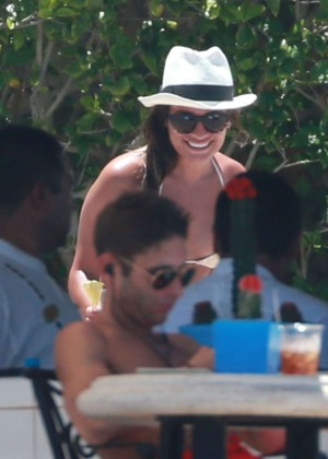 Lea Michele in Bikini -11