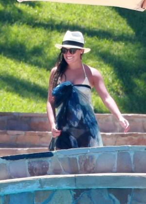 Lea Michele in Bikini -12
