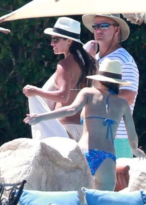 Lea Michele in Bikini -21