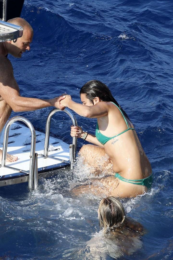 Lea Michele 2014 : Lea Michele Hot Bikini: Italy 2014 -02