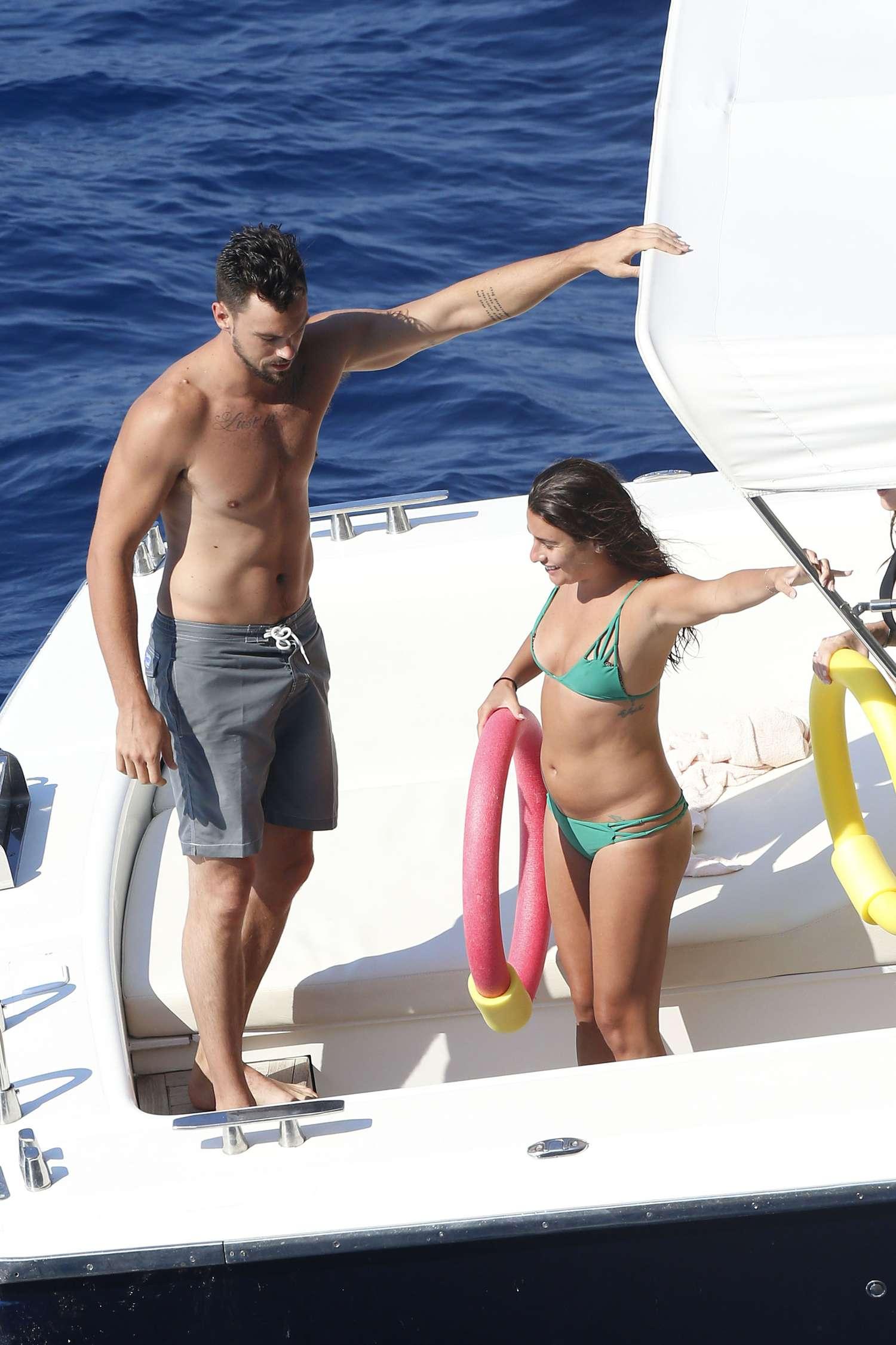 Lea Michele 2014 : Lea Michele Hot Bikini: Italy 2014 -11
