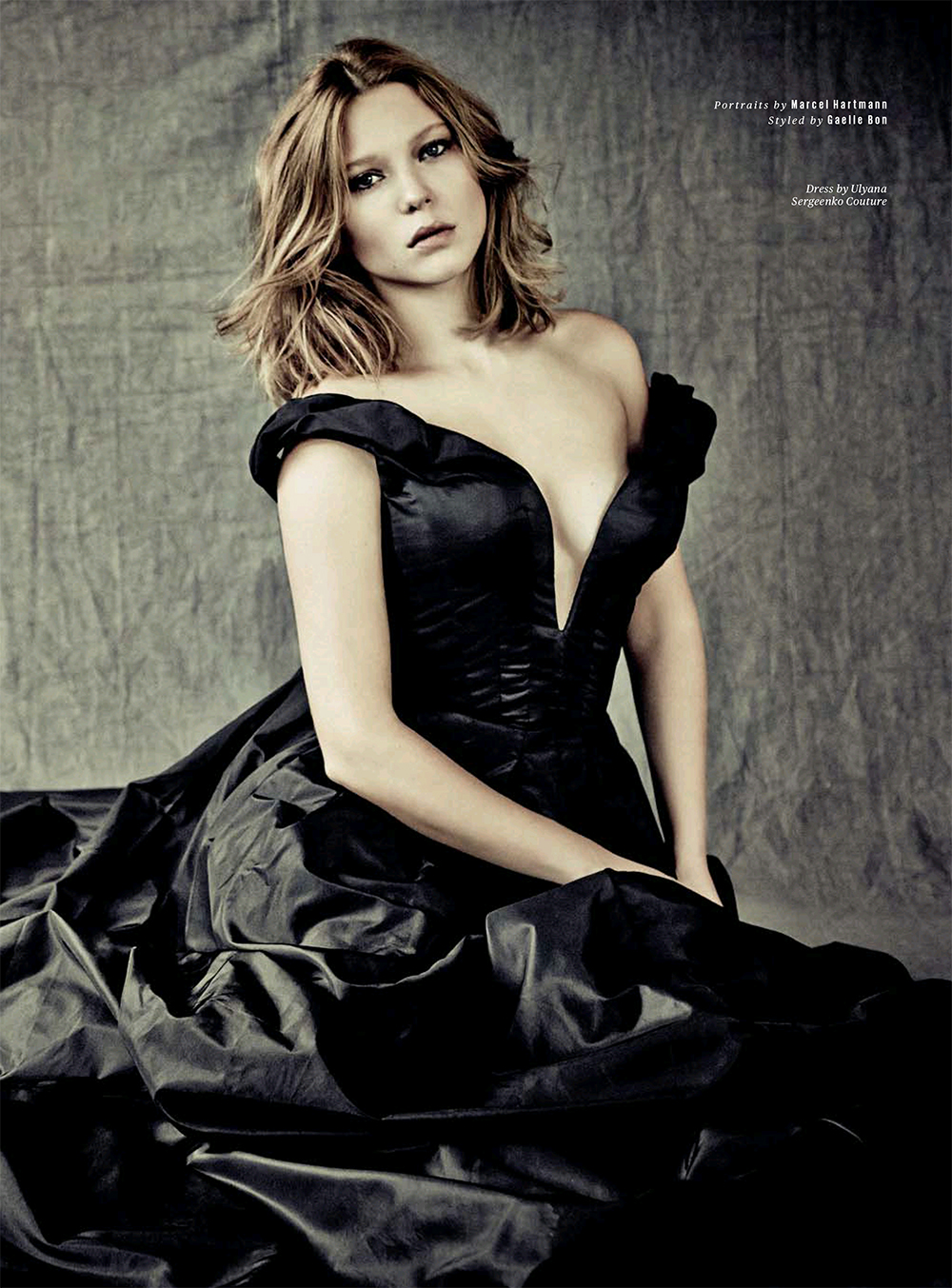 Back to FULL gallery Lea Seydoux – ES Magazine (January 2014) Emma Watson