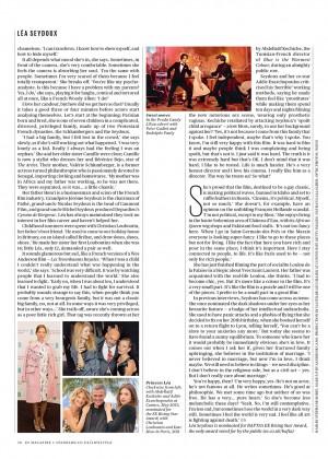 Lea Seydoux: ES Magazine -03