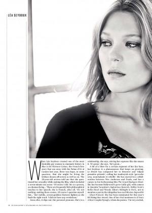 Lea Seydoux: ES Magazine -06