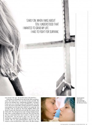 Lea Seydoux: ES Magazine -07
