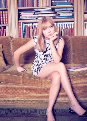 Lea Seydoux - Harper's Bazaar Brazil Magazine (November 2014) adds