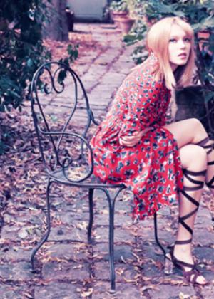 Lea Seydoux - Harper's Bazaar Brazil Magazine (November 2014)