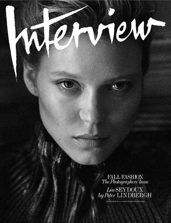Lea Seydoux - Interview Cover Magazine (September 2014)