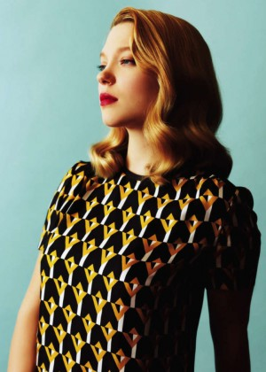 Lea Seydoux - Spur Japan Magazine (December 2014)