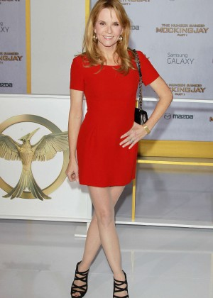 Lea Thompson - 'The Hunger Games: Mockingjay - Part 1' Premiere in LA