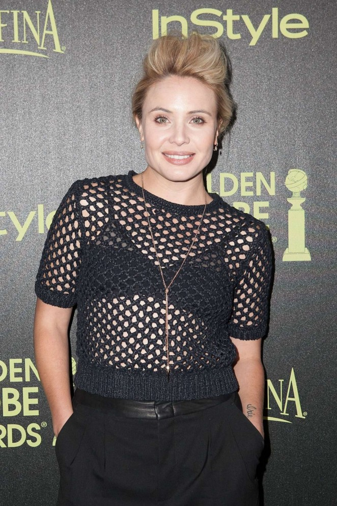 Leah Pipes - HFPA & InStyle Celebrate 2015 Golden Globe Award Season in West Hollywood