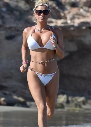 Leah Wright Bikini Photos: in Spain-02