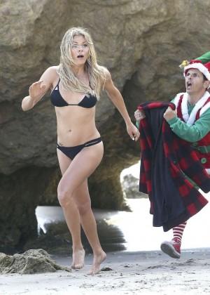 LeAnn Rimes Bikini Photoshoot in Malibu Beach -02