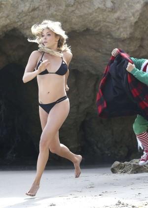 LeAnn Rimes Bikini Photoshoot in Malibu Beach -16