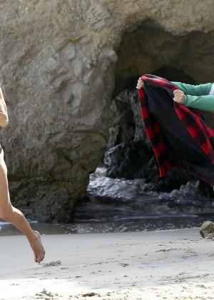 LeAnn Rimes Bikini Photoshoot in Malibu Beach -28