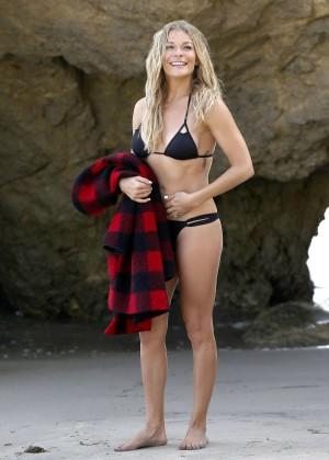 LeAnn Rimes Bikini Photoshoot in Malibu Beach -41