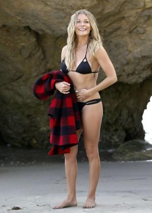 LeAnn Rimes Bikini Photoshoot in Malibu Beach -47
