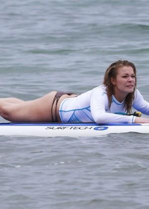 LeAnn Rimes Bikini Pics: 2014 in Mexico -12