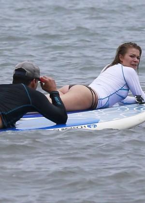 LeAnn Rimes Bikini Pics: 2014 in Mexico -19