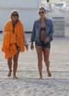 LeAnn Rimes - Wearing bikini top and shorts on Miami Beach -18