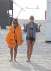 LeAnn Rimes - Wearing bikini top and shorts on Miami Beach -26