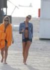LeAnn Rimes - Wearing bikini top and shorts on Miami Beach -29