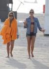 LeAnn Rimes - Wearing bikini top and shorts on Miami Beach -31