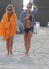LeAnn Rimes - Wearing bikini top and shorts on Miami Beach -35