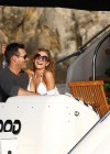 LeAnn Rimes - wearing a bikini on a boat in Mexico-04
