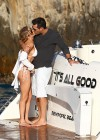 LeAnn Rimes - wearing a bikini on a boat in Mexico-06