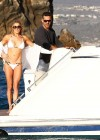 LeAnn Rimes - wearing a bikini on a boat in Mexico-11