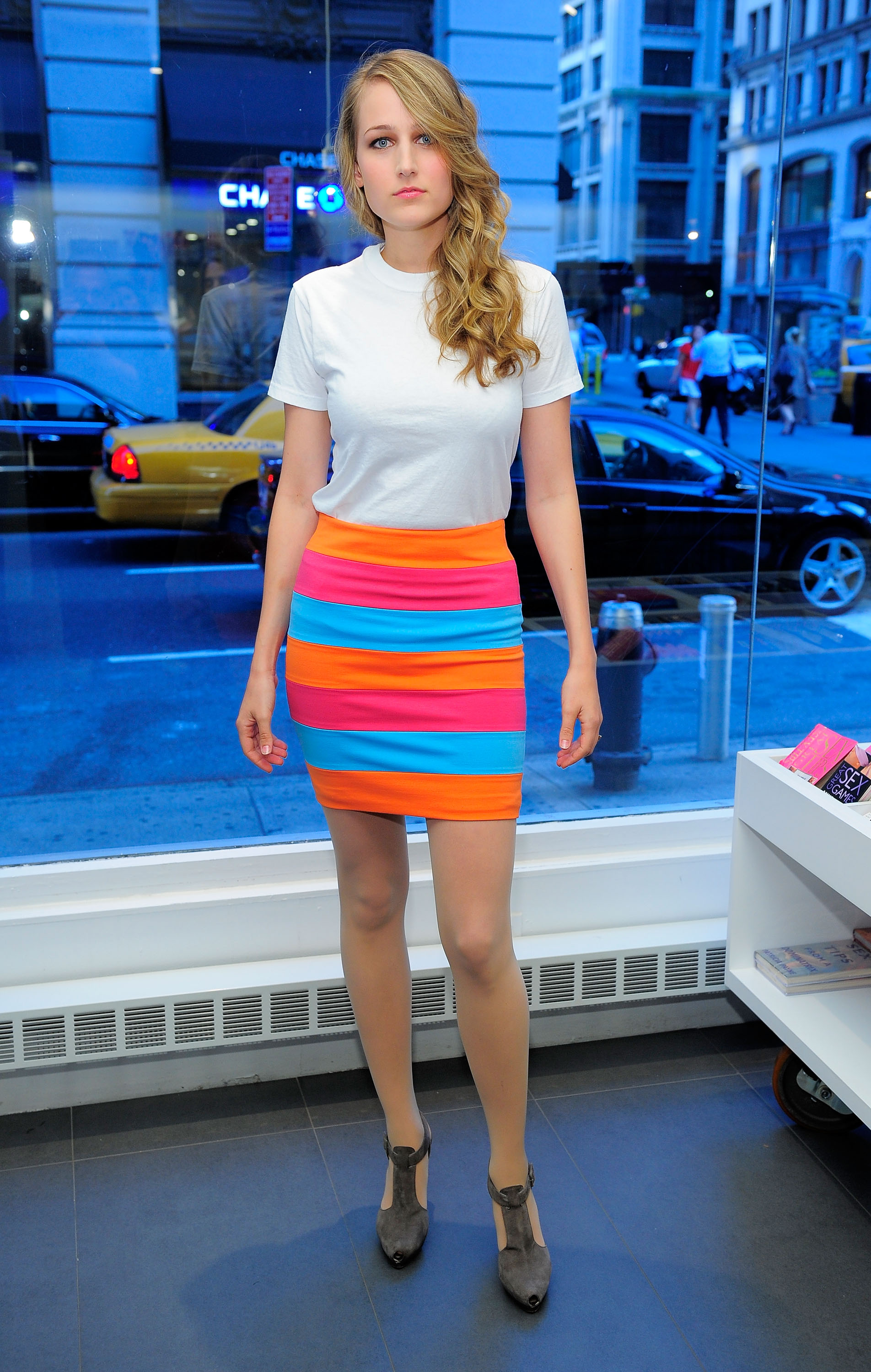 Leelee Sobieski At Screening Of Finding Bliss In Nyc 02