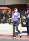 Leighton Meester at the Corner Bakery in LA-18