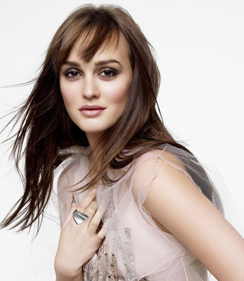 Leighton Meester for Marie Claire 2012-02