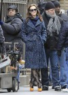 Leighton Meester - On Set of Gossip Girl-09