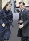 Leighton Meester - On Set of Gossip Girl-13